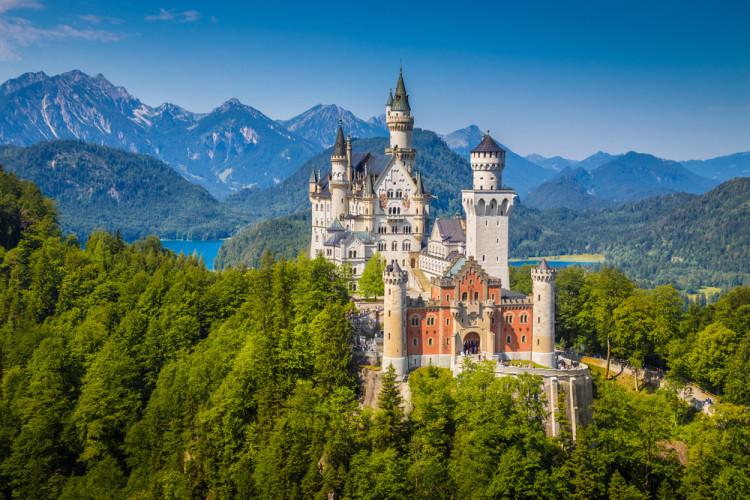 Lokasi Bak Negeri Negeri Dongeng di Jerman