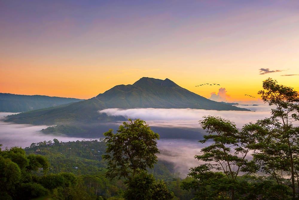 Sunrise di Kintamani.