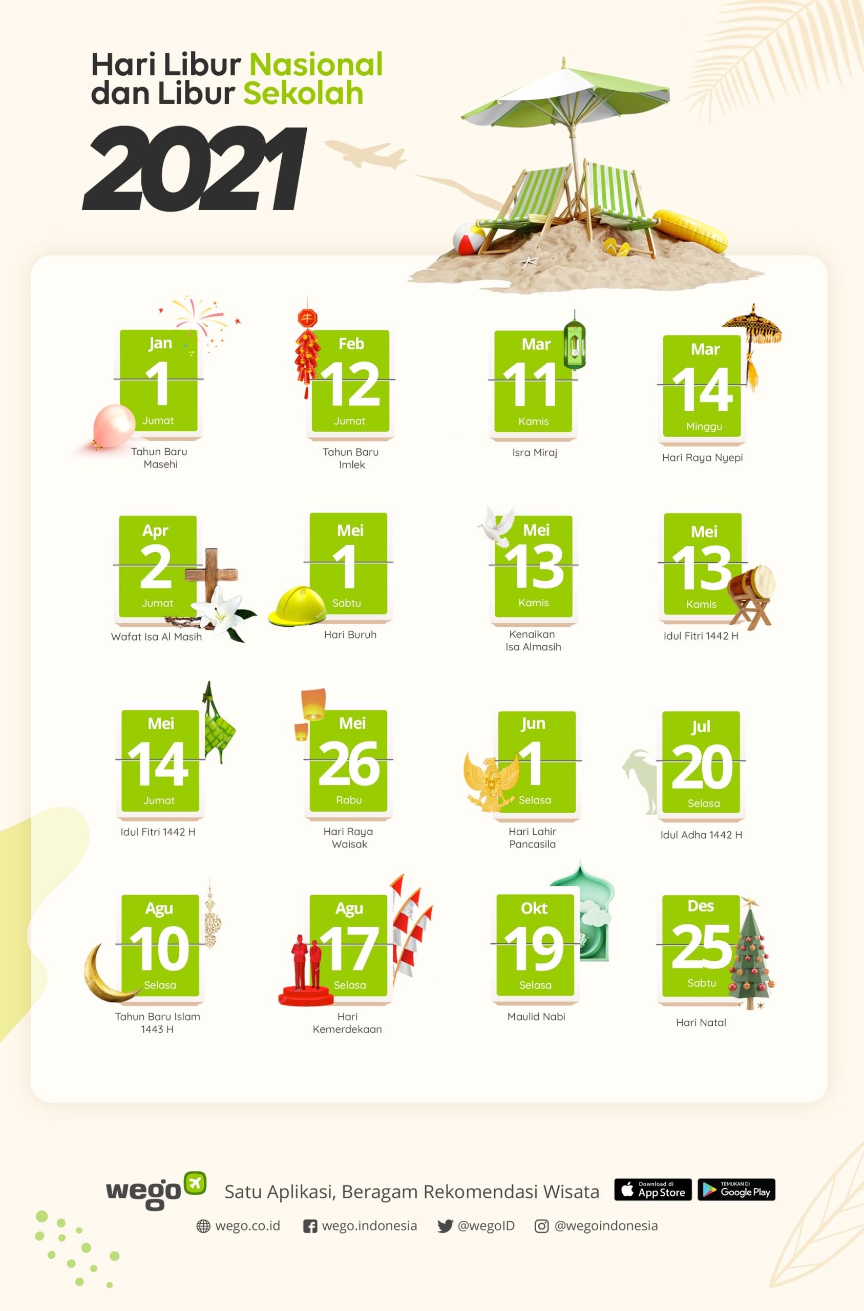 Kalender Libur Nasional 2021