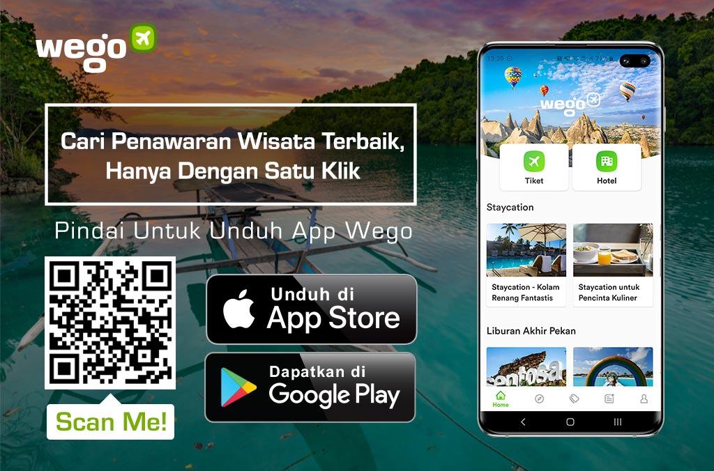 Traveling Murah Dalam Negeri dengan App Wego