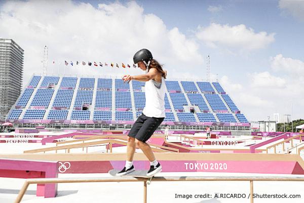 Skateboard at Tokyo Olympic 2020